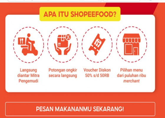 Nusabali.com - shopee-food-ramaikan-layanan-pesan-antar-makanan