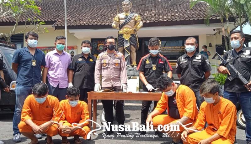 www.nusabali.com-empat-mahasiswa-komplotan-curanmor-digulung