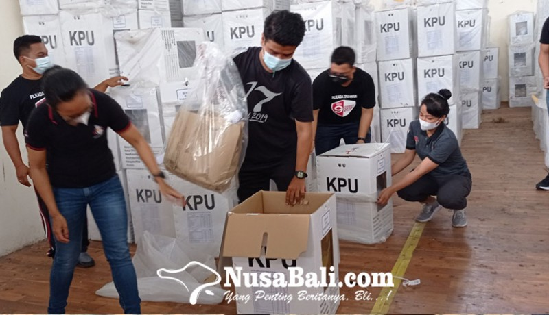 www.nusabali.com-kpu-tabanan-mulai-kosongkan-kotak-suara-pilkada-2020