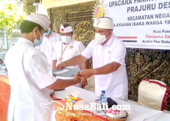 Nusabali.com - purnama-kadasa-6-bendesa-adat-dikukuhkan