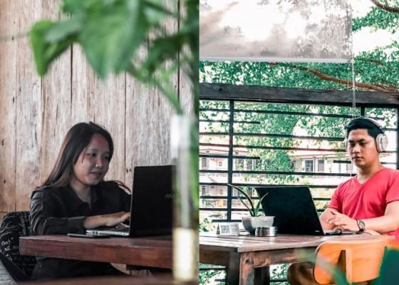 Nusabali.com - tempat-nongkrong-denpasar-makan-enak-gratis-wi-fi-kencang-di-redwhite-coffee-tempatnya