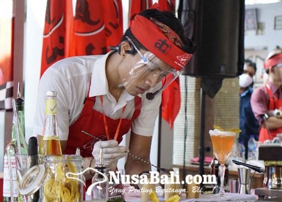 Nusabali.com - lomba-mixologi-upaya-pdip-membumikan-arak-bali