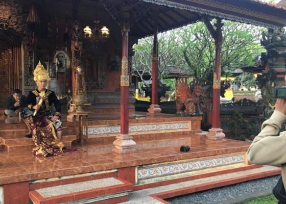 Nusabali.com - melongok-puri-lanang-sibang-kaja-wisata-prewedding-bagi-calon-pengantin