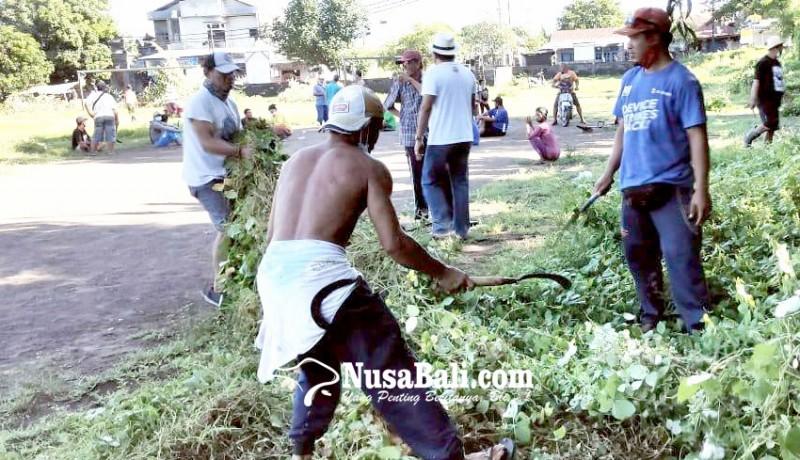 www.nusabali.com-gelar-aksi-bersih-bersih-warga-kembali-manfaatkan-lapangan-bungkulan
