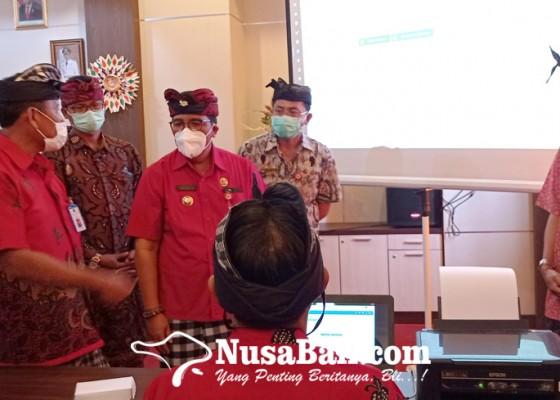 Nusabali.com - bupati-sanjaya-genjot-bangun-desa-berbasis-data