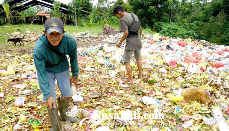 www.nusabali.com-pamedek-sepi-sampah-botol-plastik-sedikit