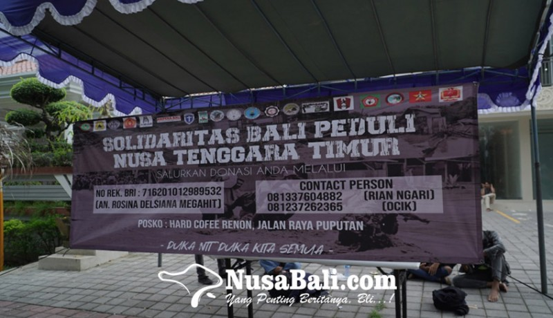 www.nusabali.com-solidaritas-mahasiswa-bali-buka-posko-peduli-bencana-ntt
