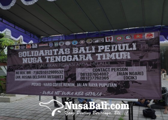 Nusabali.com - solidaritas-mahasiswa-bali-buka-posko-peduli-bencana-ntt