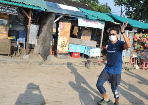 Nusabali.com - menparekraf-pastikan-prokes-di-zona-hijau-bali-diterapkan-secara-ketat