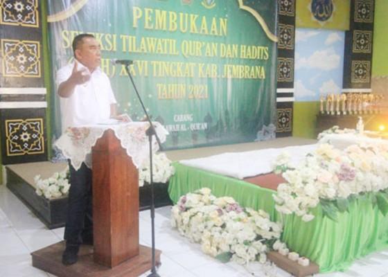 Nusabali.com - buka-seleksi-tilawatil-quran-bupati-tamba-ajak-perkokoh-nkri