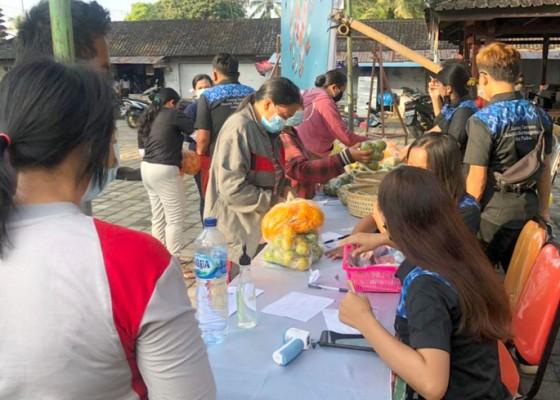 Nusabali.com - karang-taruna-desa-puhu-gelar-pasar-murah