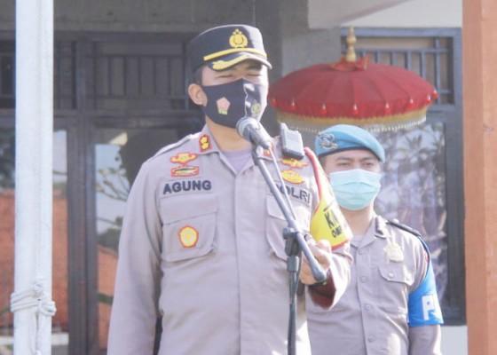 Nusabali.com - operasi-keselamatan-agung-2021-polres-bangli-kedepankan-preemtif