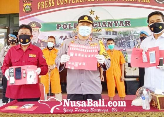 Nusabali.com - dua-pekan-satresnarkoba-gianyar-ringkus-3-pemakai-1-pengedar