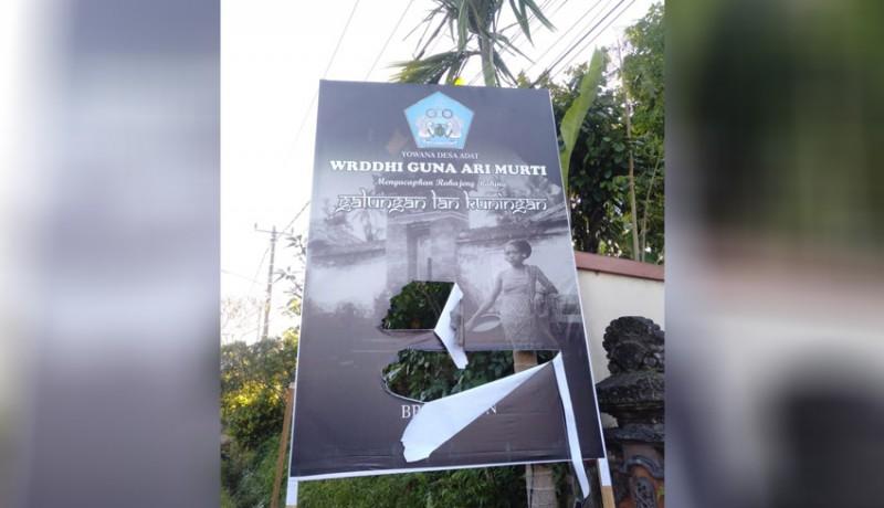 www.nusabali.com-baliho-galungan-yowana-desa-dirobek