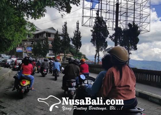 Nusabali.com - objek-wisata-di-bangli-ramai-pengunjung