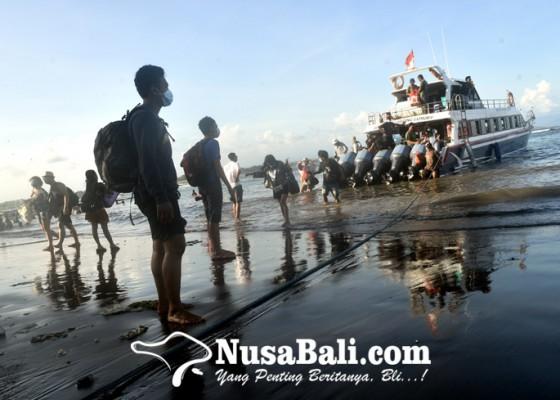 Nusabali.com - boat-di-pelabuhan-sanur-masih-nganggur