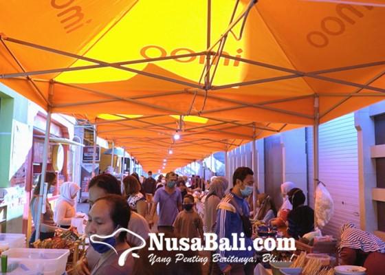 Nusabali.com - tingkatkan-ekonomi-yang-merosot-pasar-ramadan-kampung-jawa-dibuka-lagi