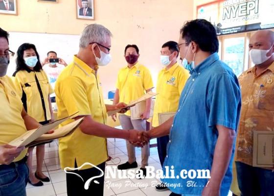 Nusabali.com - golkar-buleleng-panaskan-mesin-partai
