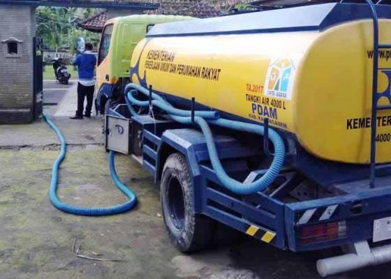 Nusabali.com - pompa-rusak-layanan-air-bersih-di-6-desa-di-abang-terganggu