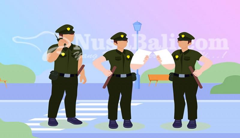 www.nusabali.com-nekat-jualan-di-trotoar-satpol-pp-amankan-10-pedagang-di-kuta