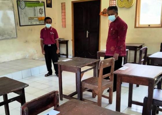 Nusabali.com - disdikpora-gelar-monev-pastikan-sekolah-siap-ptm
