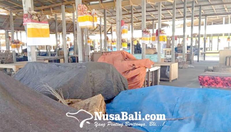 www.nusabali.com-ditinggal-pedagang-pasar-relokasi-sepi
