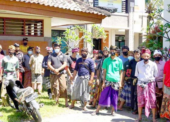 Nusabali.com - krama-desa-liligundi-datangi-mda-bebandem