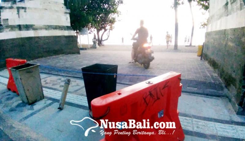 www.nusabali.com-akses-masuk-pantai-kuta-akan-dikurangi