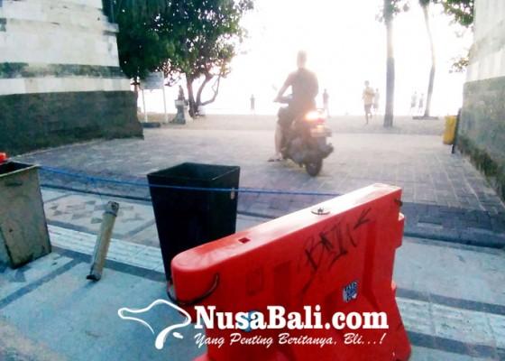 Nusabali.com - akses-masuk-pantai-kuta-akan-dikurangi