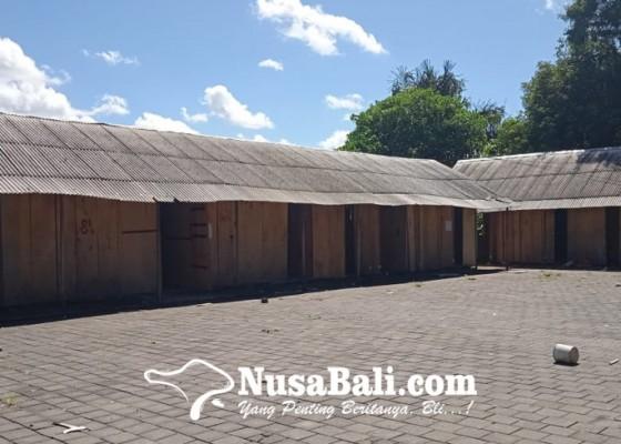 Nusabali.com - terbengkalai-pasca-ditinggal-pedagang