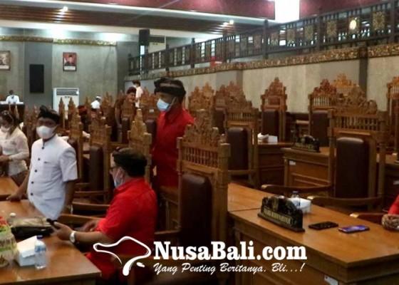 Nusabali.com - golkar-nasdem-boikot-paripurna-dprd-ditunda