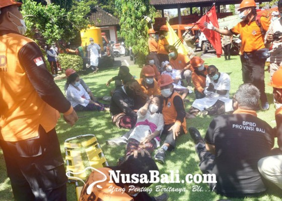 Nusabali.com - bpbd-bali-gelar-simulasi-siaga-bencana-alam