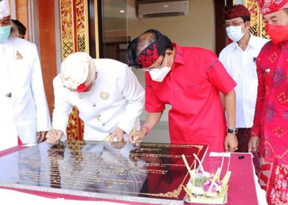 Nusabali.com - gubernur-koster-resmikan-gedung-mda-karangasem