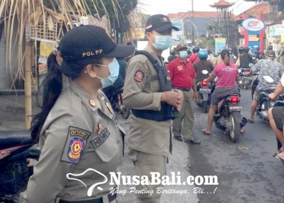 Nusabali.com - tim-yustisi-denpasar-tetap-gelar-sidak-prokes
