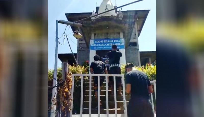 www.nusabali.com-ashram-hare-krishna-di-desa-alasangker-buleleng-ditutup