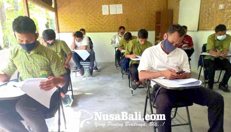 www.nusabali.com-60-siswa-paket-c-absen-ujian-sekolah