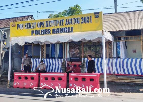 Nusabali.com - pos-sekat-dibangun-petugas-juga-siap-awasi-objek-wisata