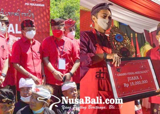 Nusabali.com - peserta-asal-gianyar-juarai-lomba-mixologi-arak-se-bali