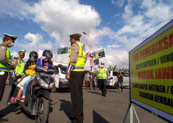 Nusabali.com - penumpang-dari-bali-diperiksa-ketat-di-pelabuhan-ketapang-banyuwangi