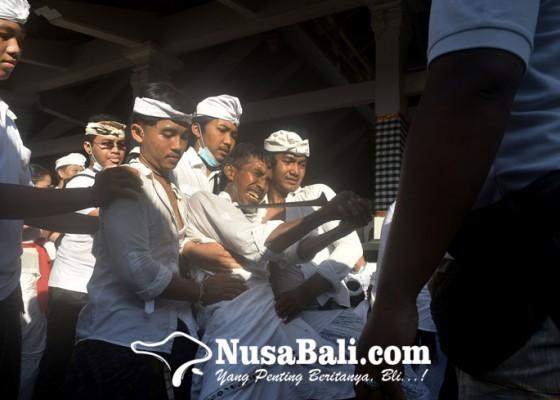 Nusabali.com - puluhan-krama-kerauhan-disertai-ngurek-saat-ritual-ngerebong