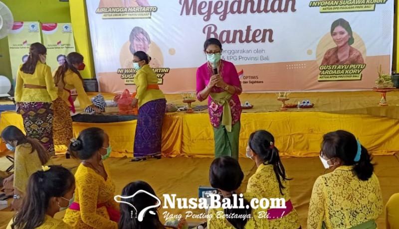 www.nusabali.com-kppg-bali-gembleng-kader-perempuan-metanding-banten