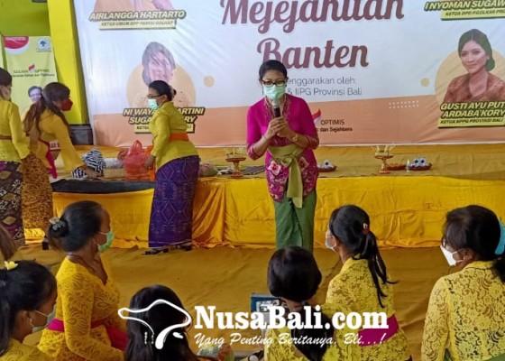Nusabali.com - kppg-bali-gembleng-kader-perempuan-metanding-banten