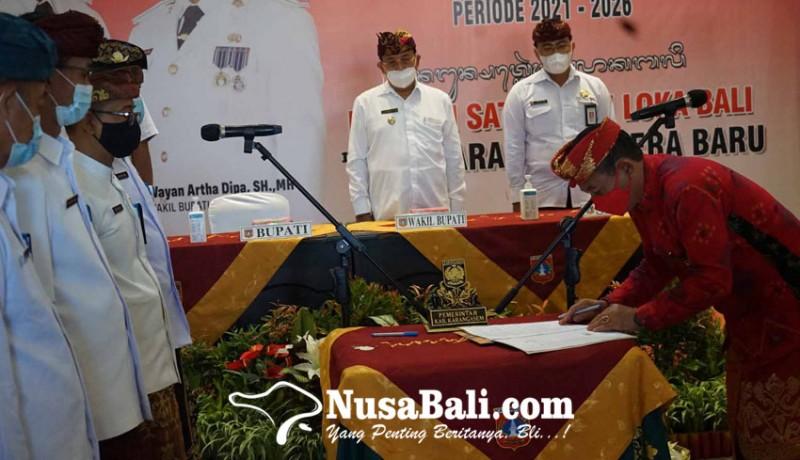 www.nusabali.com-bupati-gede-dana-kukuhkan-126-pejabat