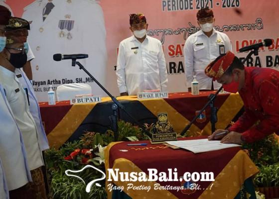 Nusabali.com - bupati-gede-dana-kukuhkan-126-pejabat