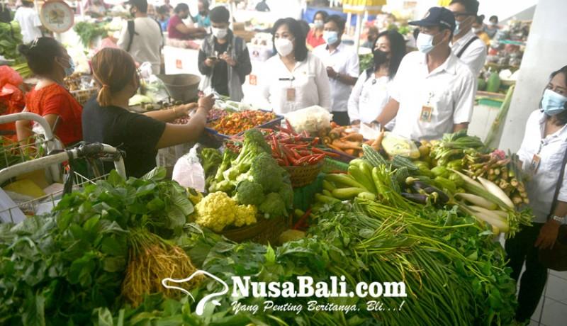 www.nusabali.com-jelang-lebaran-disperindag-cek-bahan-pokok-di-pasar-phula-kerti