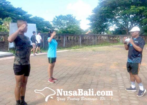 Nusabali.com - calon-paskibraka-provinsi-bali-latihan-mandiri