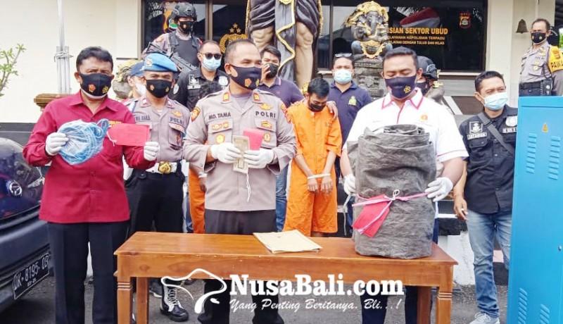www.nusabali.com-dipecat-karyawan-cuci-mobil-curi-kompresor