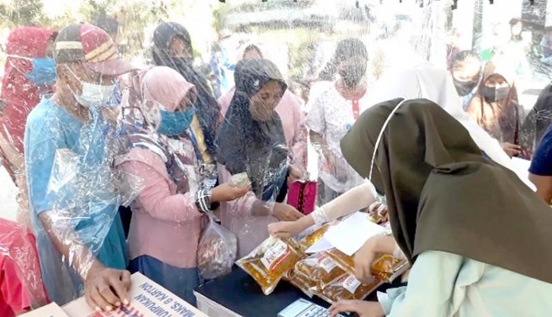 www.nusabali.com-pasar-murah-500-kg-beras-hingga-1500-butir-telur-ludes-dalam-1-jam