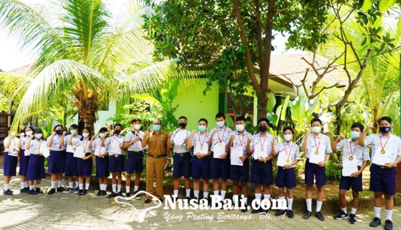www.nusabali.com-sebulan-smpn-4-singaraja-borong-32-medali-kompetisi-sains
