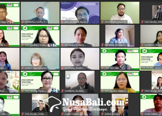 Nusabali.com - undiksha-gelar-plp-luar-negeri-secara-virtual